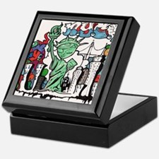 graffiti new york city Keepsake Box