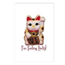 I'm Feeling Lucky Cat Postcards (Package of 8)