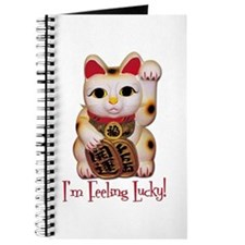 I'm Feeling Lucky Cat Journal