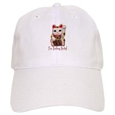 I'm Feeling Lucky Cat Baseball Cap