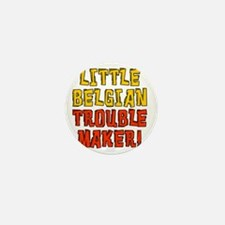 Little Belgian Trouble Maker Mini Button
