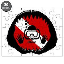 iDive Scuba Shark Jaw Puzzle