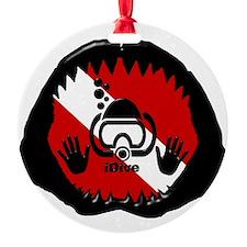 iDive Scuba Shark Jaw Ornament