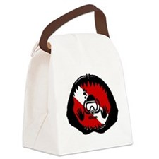 iDive Scuba Shark Jaw Canvas Lunch Bag