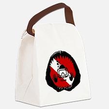 iDive Scuba Shark Jaw Canvas Lunch Bag
