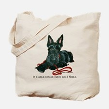 Scottish Terrier Rescue Me Tote Bag