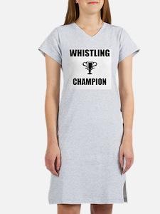whistling champ Women's Nightshirt