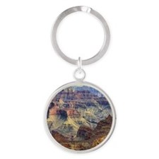 grand canyon Round Keychain