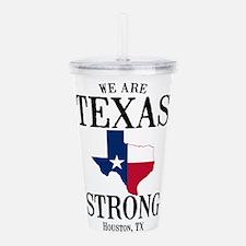 Houston TX Acrylic Double-wall Tumbler