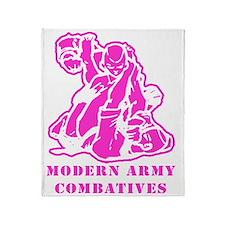 MACP Logo Pink Throw Blanket