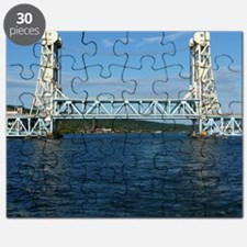 Portage Lake Lift Bridge Puzzle
