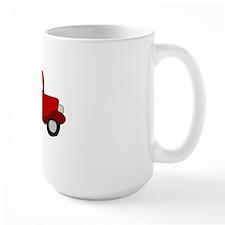 Red Truck Mug