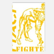 MACP Knee Fighter Gold Postcards (Package of 8)