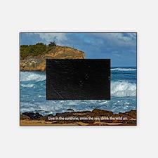 Shipwreck Beach Shorebreaks Picture Frame