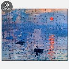 Monet Sunrise Puzzle