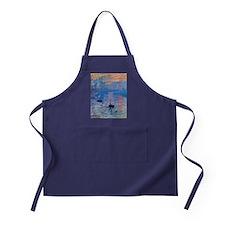 Monet Sunrise Apron (dark)