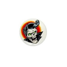 rockabilly Mini Button