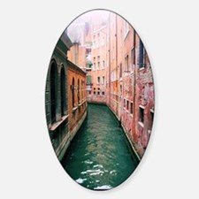Canal in Venice Italy Sticker (Oval)