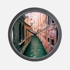 Canal in Venice Italy Wall Clock