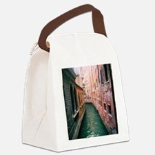 Canal in Venice Italy Canvas Lunch Bag