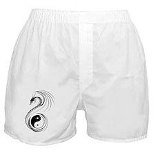 Yin Yang Dragon Boxer Shorts