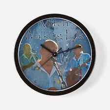 Mitch Walking Elk Wall Clock