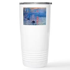 Monet Sunrise Travel Mug
