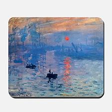 Monet Sunrise Mousepad