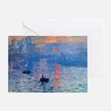 Monet Sunrise Greeting Card