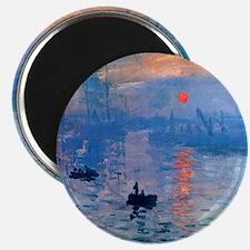 Monet Sunrise Magnet