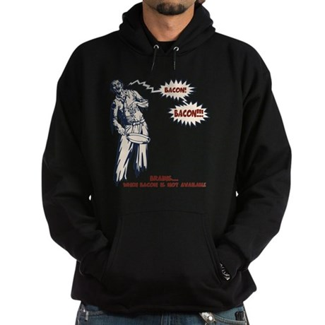 zombie-bacon-LTT Hoodie (dark)