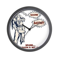 zombie-bacon-LTT Wall Clock