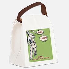 zombie-bacon-TIL Canvas Lunch Bag