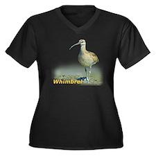 Heroic Whimb Women's Plus Size Dark V-Neck T-Shirt