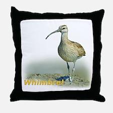 Heroic Whimbrel Throw Pillow
