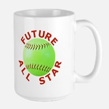 Softball Kids Large Mug