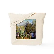 Monet Garden At Montgeron Tote Bag