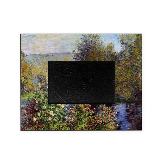 Monet Garden At Montgeron Picture Frame By Admin CP1030624