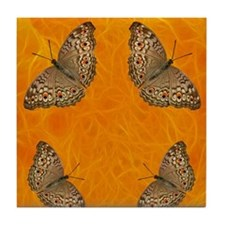 Butterfly Fires Tile Coaster