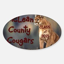 McLean County Cougars Decal