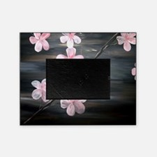 Cherry Blossom Night Shadow Picture Frame