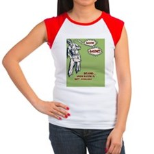 zombie-bacon-BUT Women's Cap Sleeve T-Shirt