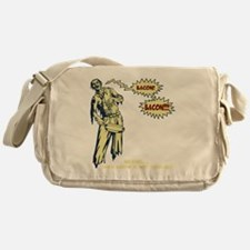 zombie-bacon-DKT Messenger Bag