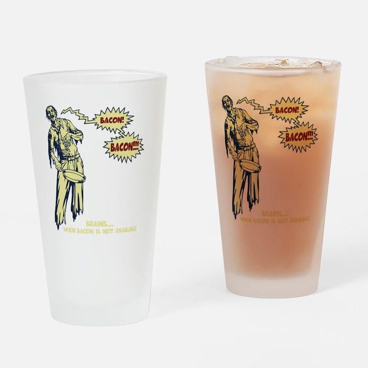 zombie-bacon-DKT Drinking Glass
