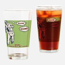 zombie-bacon-PLLO Drinking Glass