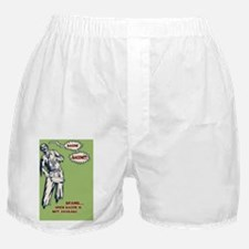 zombie-bacon-CRD Boxer Shorts