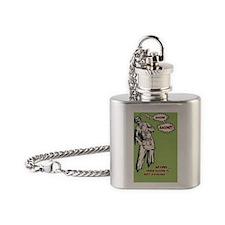 zombie-bacon-STKR Flask Necklace