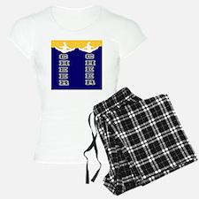 Cheer Yellow and blue Pajamas