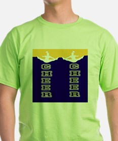 Cheer Yellow and blue T-Shirt