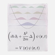 harmonic oscillator probability dens Throw Blanket